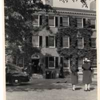 Foxcroft Hall in the Summer of 1946